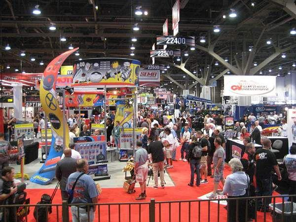 Crowds at SEMA back almost to pre crash levels! © A Coster