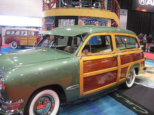 Woody on display at SEMA  © A Coster