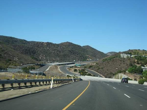 Nobody uses the toll roads so they are wonderful! this one between LA & San Diego © A Coster