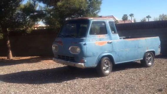 Horses Truck - Ford Econoline Pickup Truck