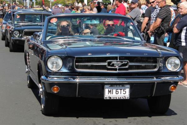 1965 Ford Mustang Convertible ©A Coster