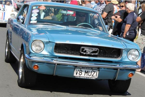 1966 Ford Mustang ©A Coster