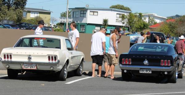 Ford Mustangs ©A Coster
