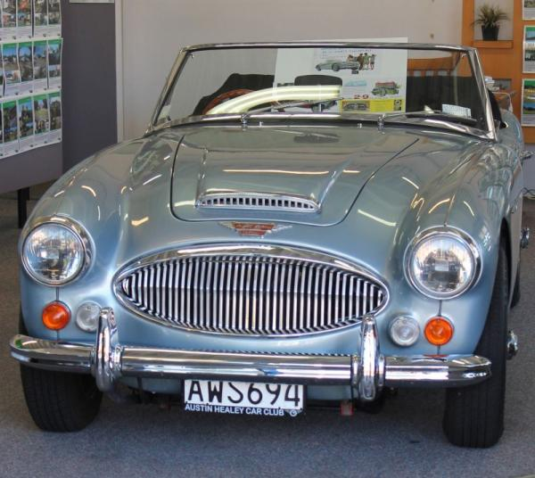 1966 Austin Healey ©A Coster