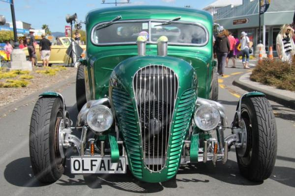 Waihi Warm Up Party - Beach Hop 2014 ©N McLean