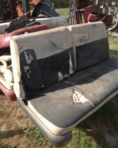 Ford Front Split Seats - Rear Seats, Image ©
